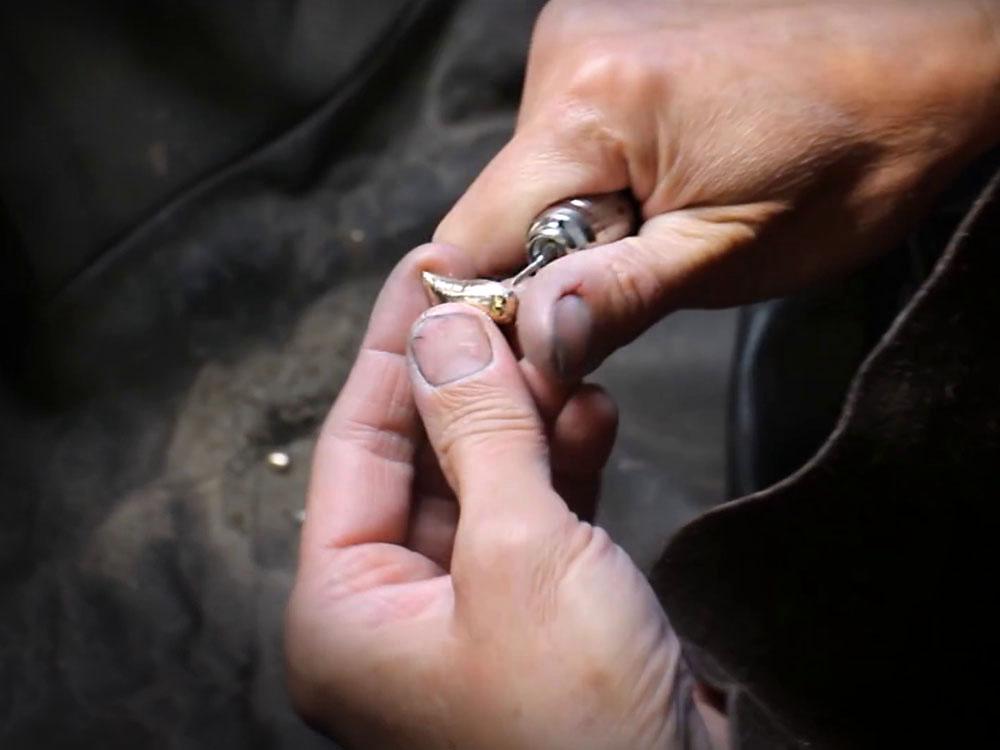 unikt smykke til bruden